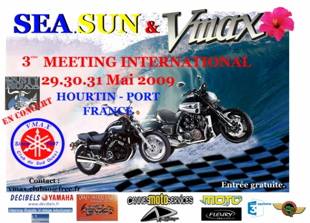 3eme meeting international du Vmax club du sud ouest